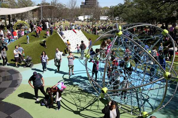 The Levy Park Conservancy holds a Grand Re-Opening for Levy Park with an all-day event that promises something for everyone and every age Saturday, Feb. 25, 2017, in Houston.