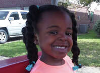 De'Maree Adkins, 8-year old, was shot to death after car crash. Adkins and her mom, Latoyia Thomas were driving near the intersection of the Sam Houston Parkway feeder and Fuqua Street, when a speeding car hit their vehicle. The driver from the other vehicle jumped into another car and then started to shooting at Thomas' vehicle.Â