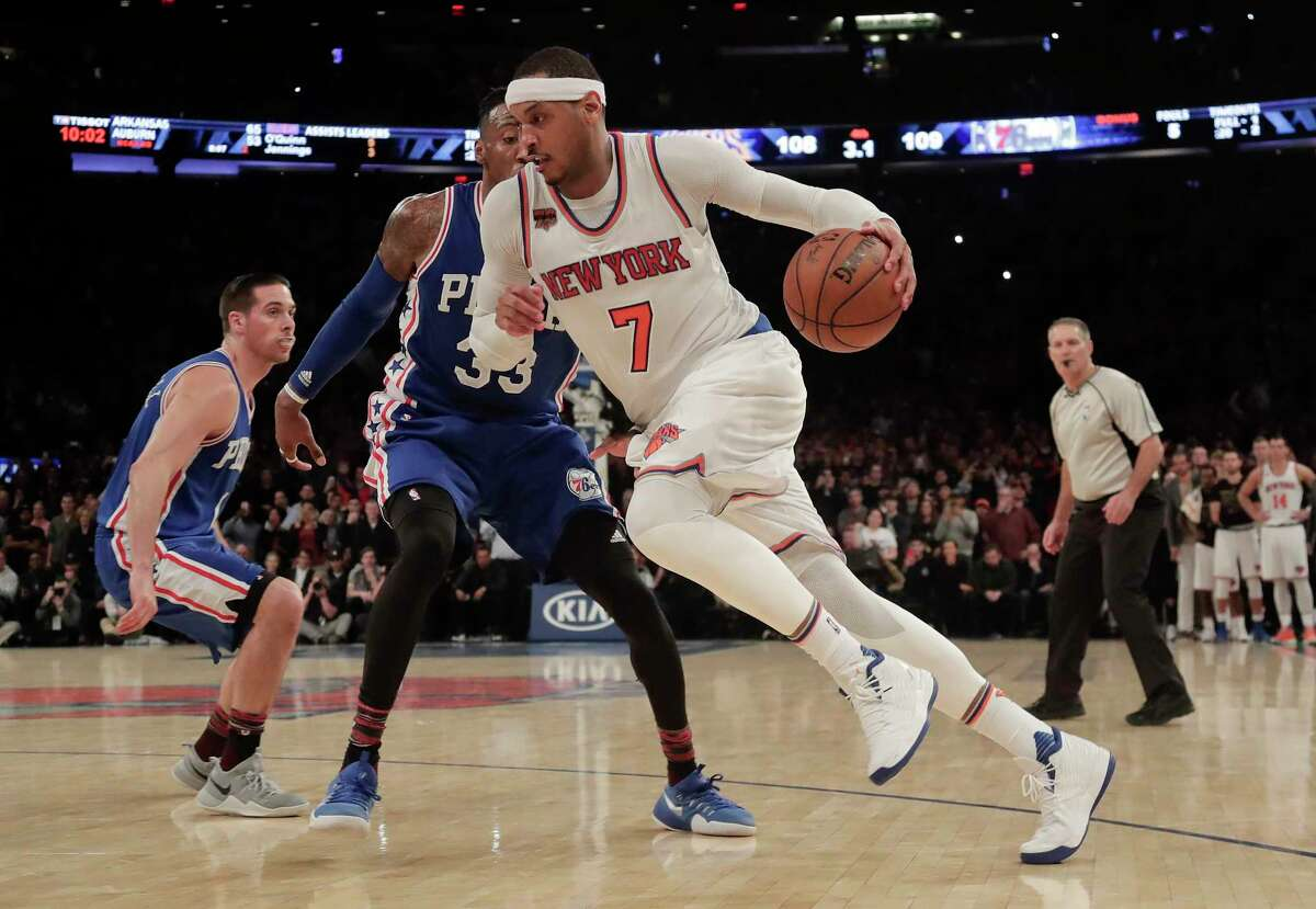 Remember when Carmelo Anthony poured in 62 points against Charlotte back in 2014? No? MSG Network can help. Watch the game here: https://www.youtube.com/watch?v=rP1VG7FK968 (AP Photo/Julie Jacobson)