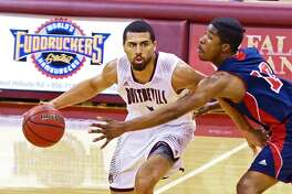 Arthur Santanna scored 16 points in TAMIU's win during Saturday's season finale at Newman. The Dustdevils claimed the No. 2 seed in the Heartland Conference tournament and square off in Tulsa next Thursday against seventh-seeded St. Mary's at 7:30 p.m.
