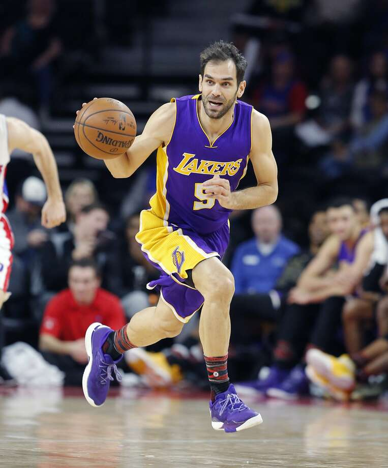 Warriors Are Favorites To Sign Lakers' Jose Calderon After Buyout