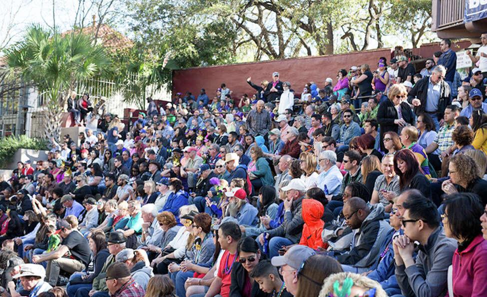 March 2: Bud Light Mardi Gras River Parade & Festival Arneson River Theatre, 1 to 6 p.m.