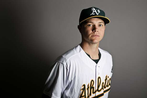This is a 2017 photo of starting pitcher Sonny Gray of the Oakland Athletics baseball team poses for a portrait. This image reflects the Athletics active roster as of Wednesday, Feb. 22, 2017, when this image was taken. (AP Photo/Chris Carlson)
