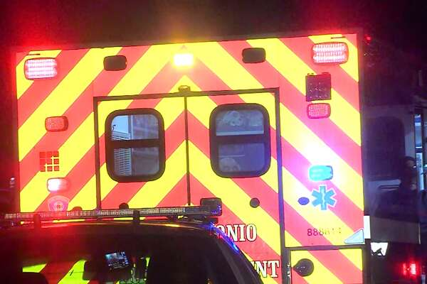 San Antonio police say a man was rushed to University Hospital in critical condition after being attacked with a knife by a suspect, they are still searching for, Sunday morning. Feb. 26, 2017, on the Northwest Side.