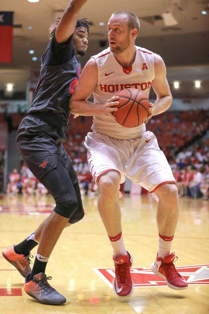 University of Houston basketball player Kyle Meyer