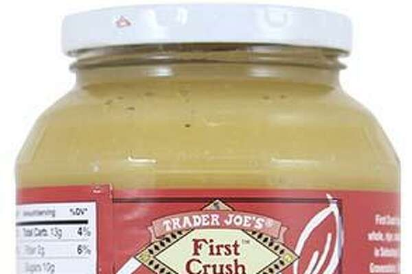 Manzana Products Co., Inc. is voluntarily recalling three different types of Trader Joe's Unsweetened Apple Sauces due to the potential presence of glass pieces. Photo courtesy of the U.S. Food and Drug Administration.