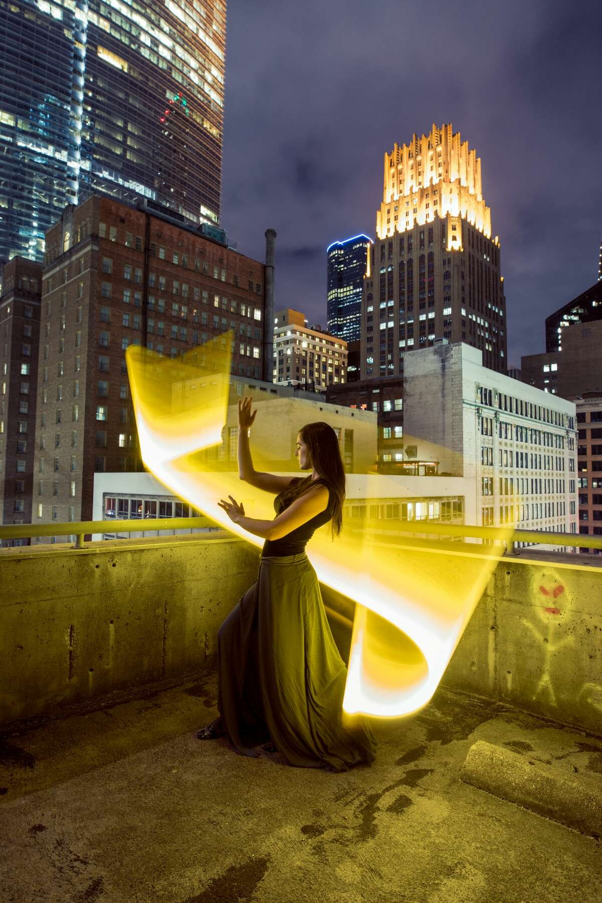 Houston photographer Zachery Smidt takes incredible photos around Texas by using light and an open exposure. The result is a stunning photo set in all things Texas Site:Downtown Houston