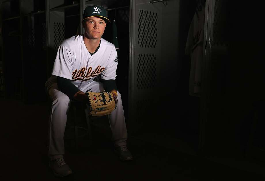 MESA, AZ - FEBRUARY 22:  Pitcher Sonny Gray #54 of the Oakland Athletics poses for a portrait during photo day at HoHoKam Stadium on February 22, 2017 in Mesa, Arizona.  (Photo by Christian Petersen/Getty Images) Photo: Christian Petersen, Getty Images
