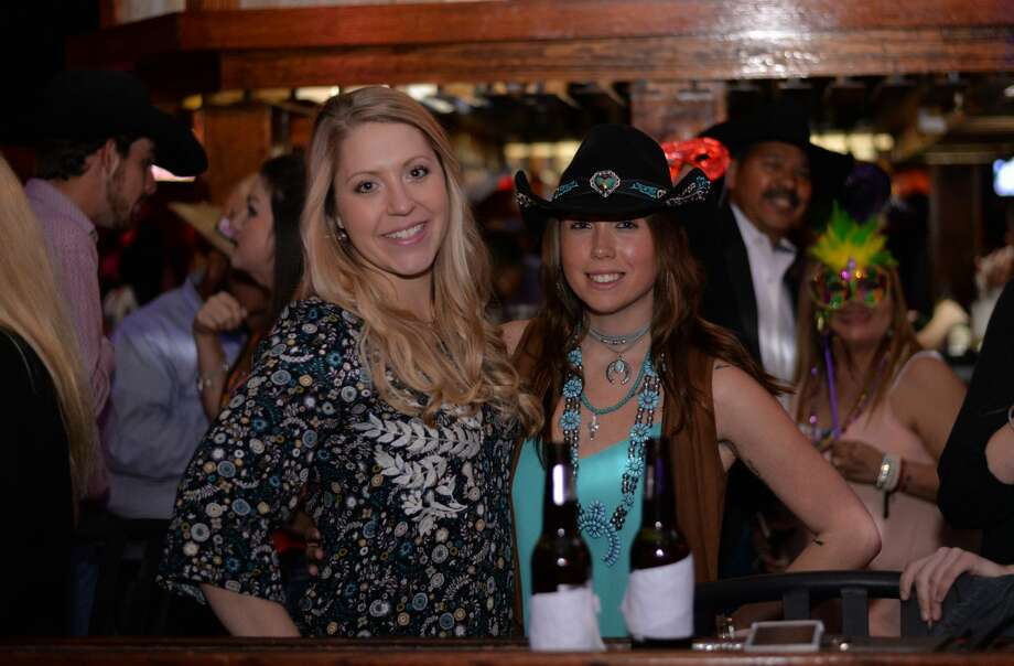 Area county dance club Wild West got good and rowdy for a special Mardi Gras party Saturday, Feb. 25, 2017. Cowboys and cowgirls hit the dance floor with a vengeance, and a bit of Cajun Flair. Photo: By Kody Melton, For MySA