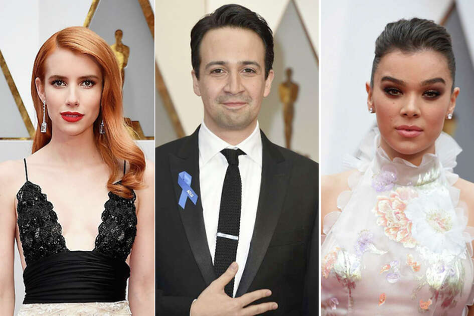 Stars hit the red carpet for the Academy Awards in Hollywood on Sunday night.