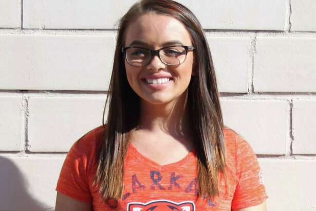 Tarkington High School graduate Cheyenne Gamangasso is a college freshman at Sam Houston State University where she is part of the College Works Painting internship. She is one of 12 students selected out of a group of 800.