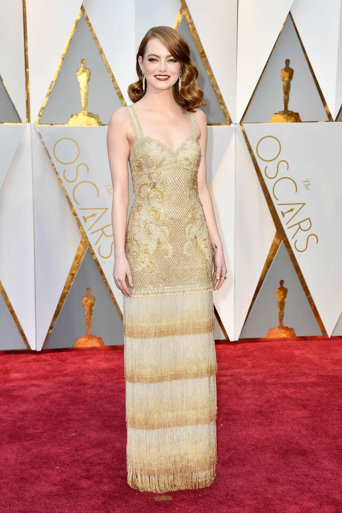 Actor Emma Stone attends the 89th Annual Academy Awards at Hollywood & Highland Center on February 26, 2017 in Hollywood, California.