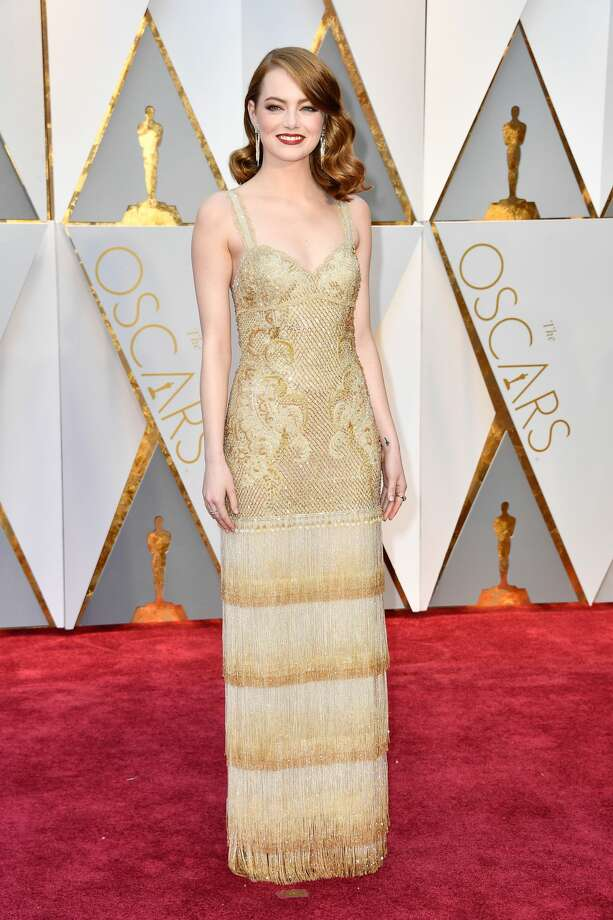 Actor Emma Stone attends the 89th Annual Academy Awards at Hollywood & Highland Center on February 26, 2017 in Hollywood, California. Photo: Frazer Harrison/Getty Images