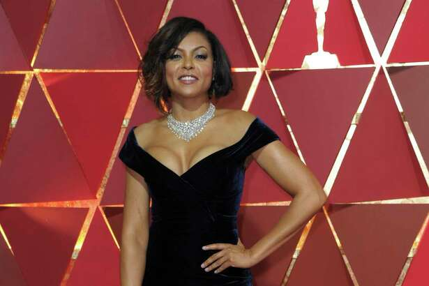 Taraji P. Henson arrives at the Oscars on Sunday, Feb. 26, 2017, at the Dolby Theatre in Los Angeles. (Photo by Richard Shotwell/Invision/AP)