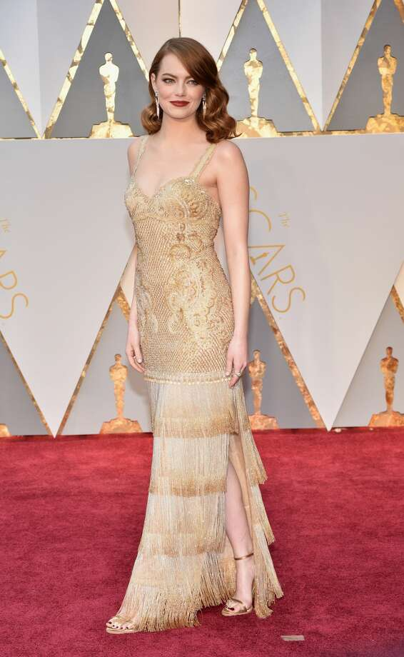 Actor Emma Stone attends the 89th Annual Academy Awards at Hollywood & Highland Center on February 26, 2017 in Hollywood, California. Photo: Kevin Mazur/Getty Images