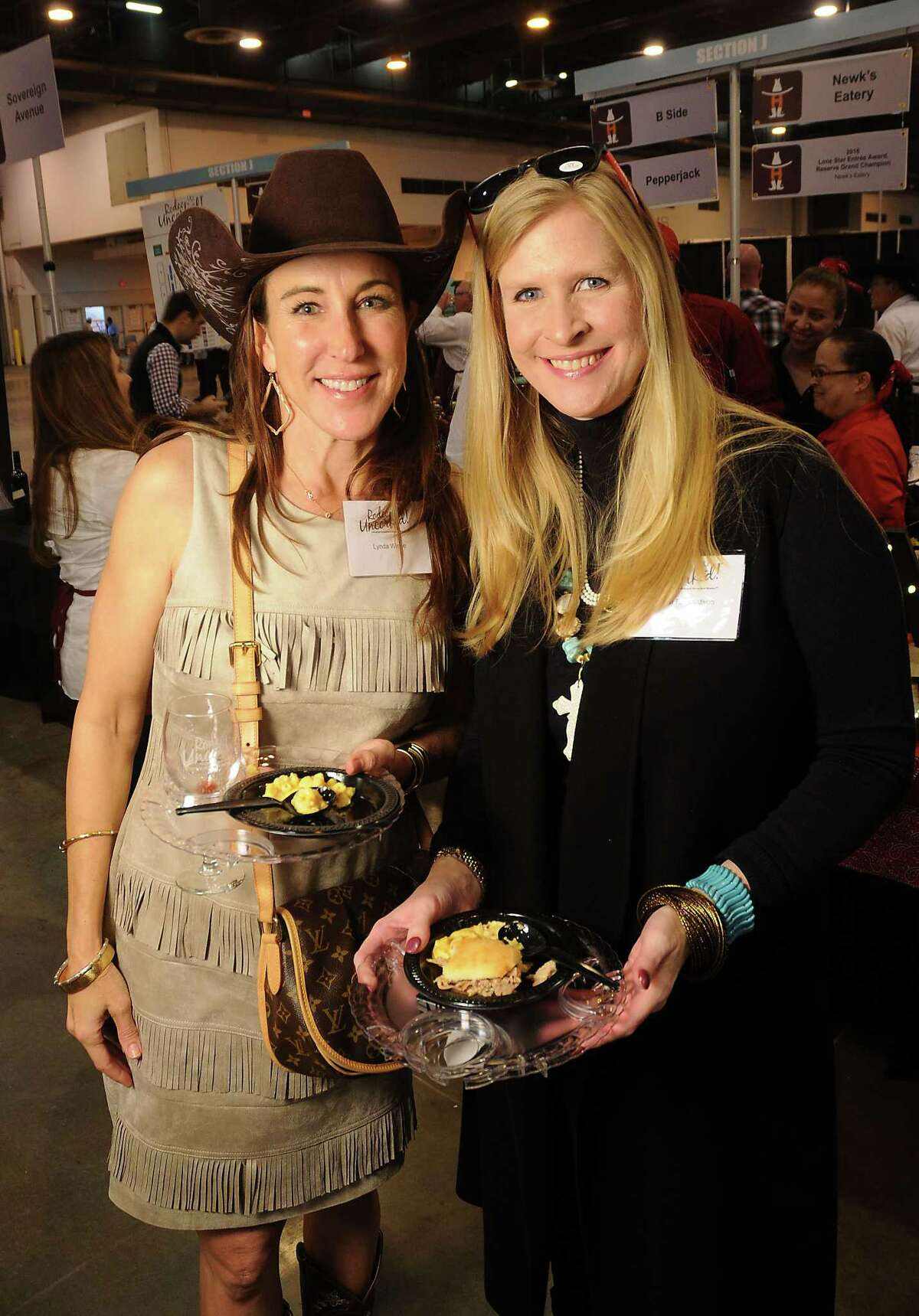 Guests at the Rodeo Uncorked and Best Bites Competition at NRG Center Sunday February 26, 2017. (Dave Rossman Photo)