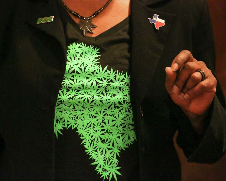T. Watson is secretary of the local chapter of the National Organization for the Reform of Marijuana Laws. Photo: Yi-Chin Lee / Houston Chronicle, Yi-Chin Lee / Houston Chronicle 2017