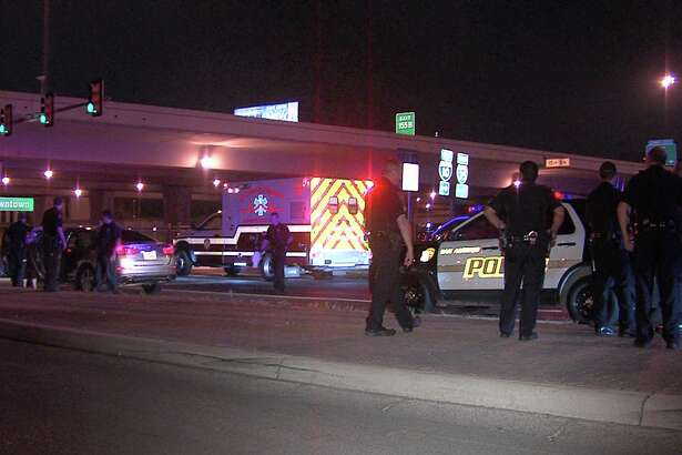 Officers responded to the shooting around 11:15 p.m., on Feb. 26, 2017, at West Cesar E. Chavez Boulevard and South Pecos Street near the downtown campus of the University of Texas at San Antonio.