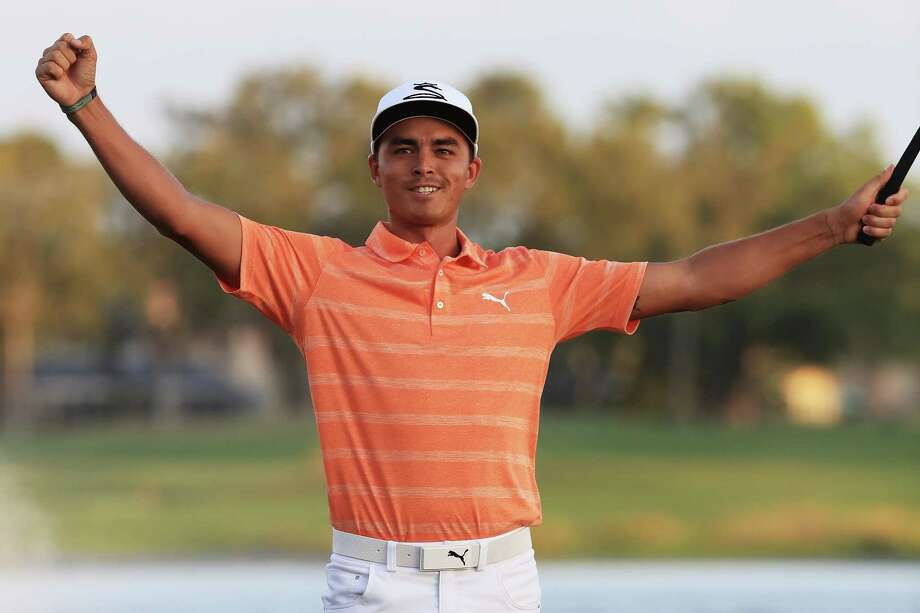 Rickie Fowler celebrates winning the Honda Classic - his first PGA Tour victory since September 2015. Photo: Sam Greenwood, Staff / 2017 Getty Images