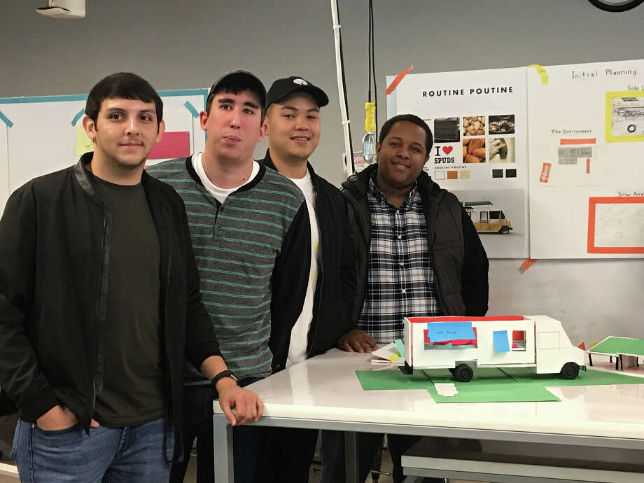 """Lamar engineering students compete in """"Hack-a-Truck"""" Photo: Dan Wallach"""