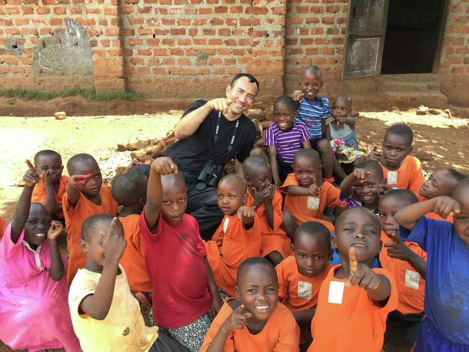 Vincent Lyn, a consultant for the United Nations will speak at Stamford Library on Saturday March 4 on the plight of African orphans. Photo: Stamford Library