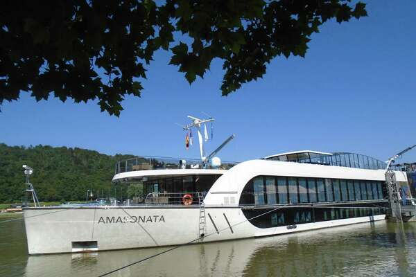 The AmaSonata is a sleek river cruise ship recently added to AmaWaterways' fleet.