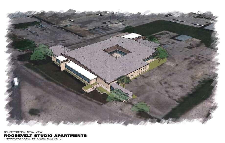 Local developer James Lifshutz wants to convert a 5.4-acre industrial facility near Mission San José into apartments. Photo: HDRC Agenda