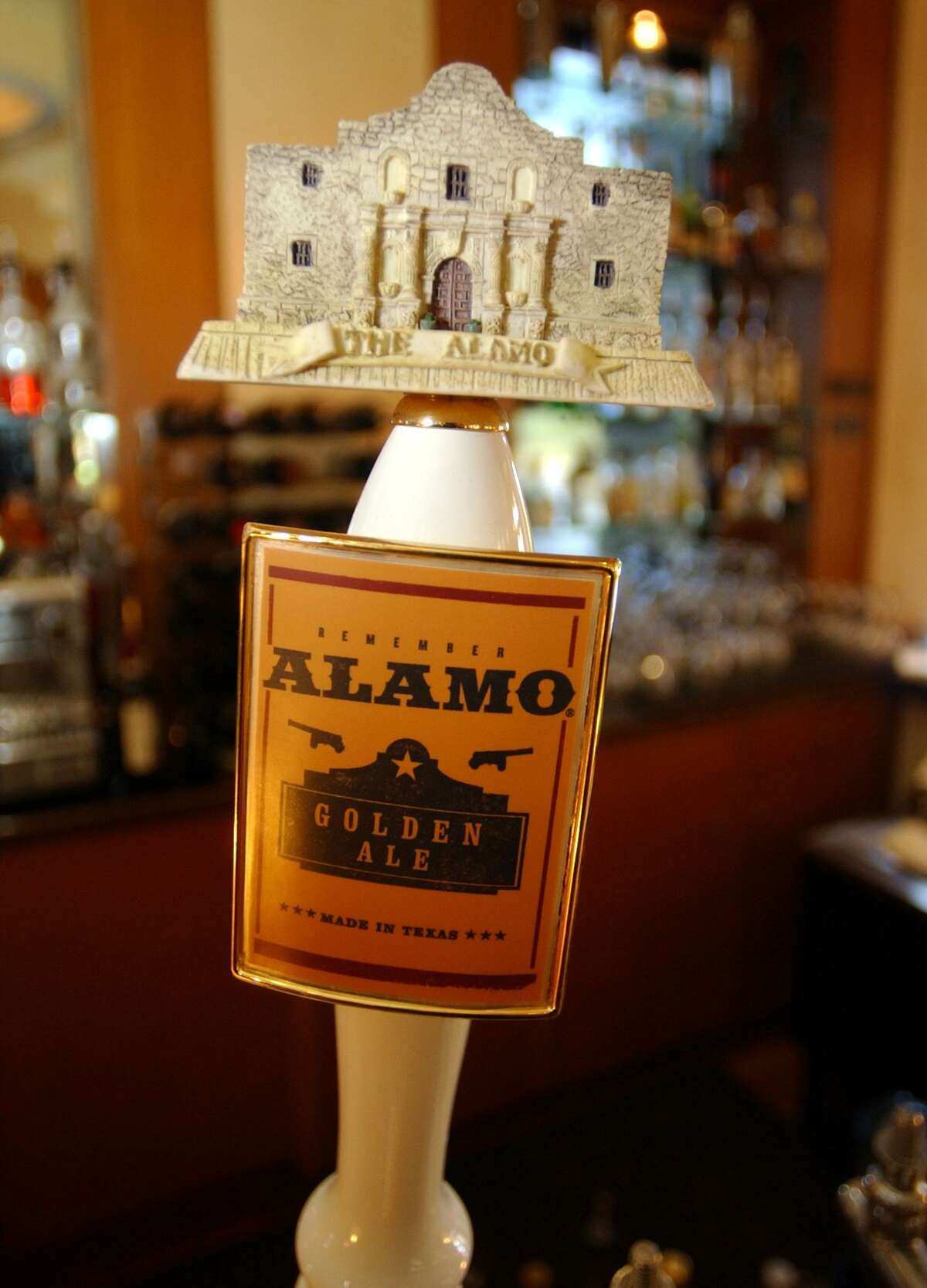 A locally brewed Alamo Golden Ale will wash down a meal of turkey and fixings scarfed while watching the Cowboys game.