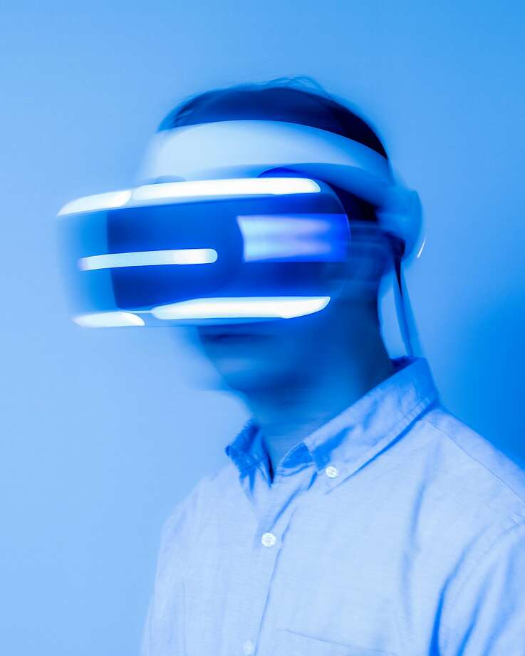 Sony executives were cautious about the Play Station VR headsets, but sales have taken off. Photo: JUSTIN KANEPS, NYT