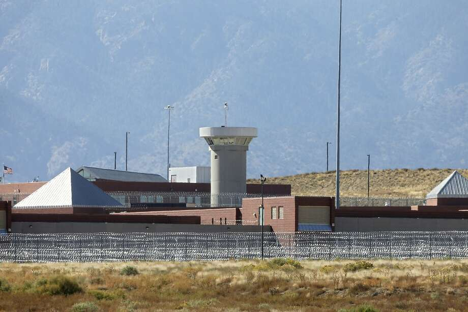 A guard tower looms over the federal Supermax prison facility outside Florence, Colo. Tough talk from Attorney General Jeff Sessions on crime and drugs could reverse the trend of lower prison populations. Photo: Brennan Linsley, Associated Press