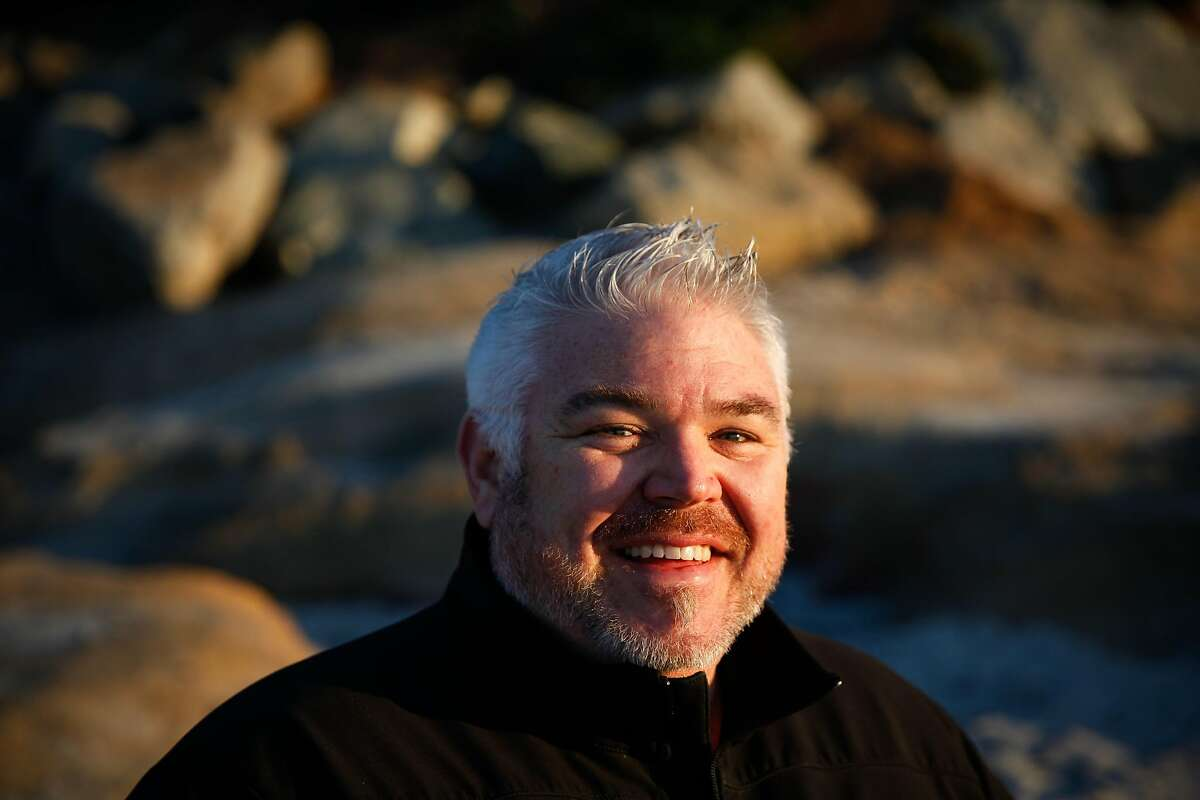 Chef Todd Fisher at Carmel Beach in Carmel, Calif., Monday, November 16, 2015.