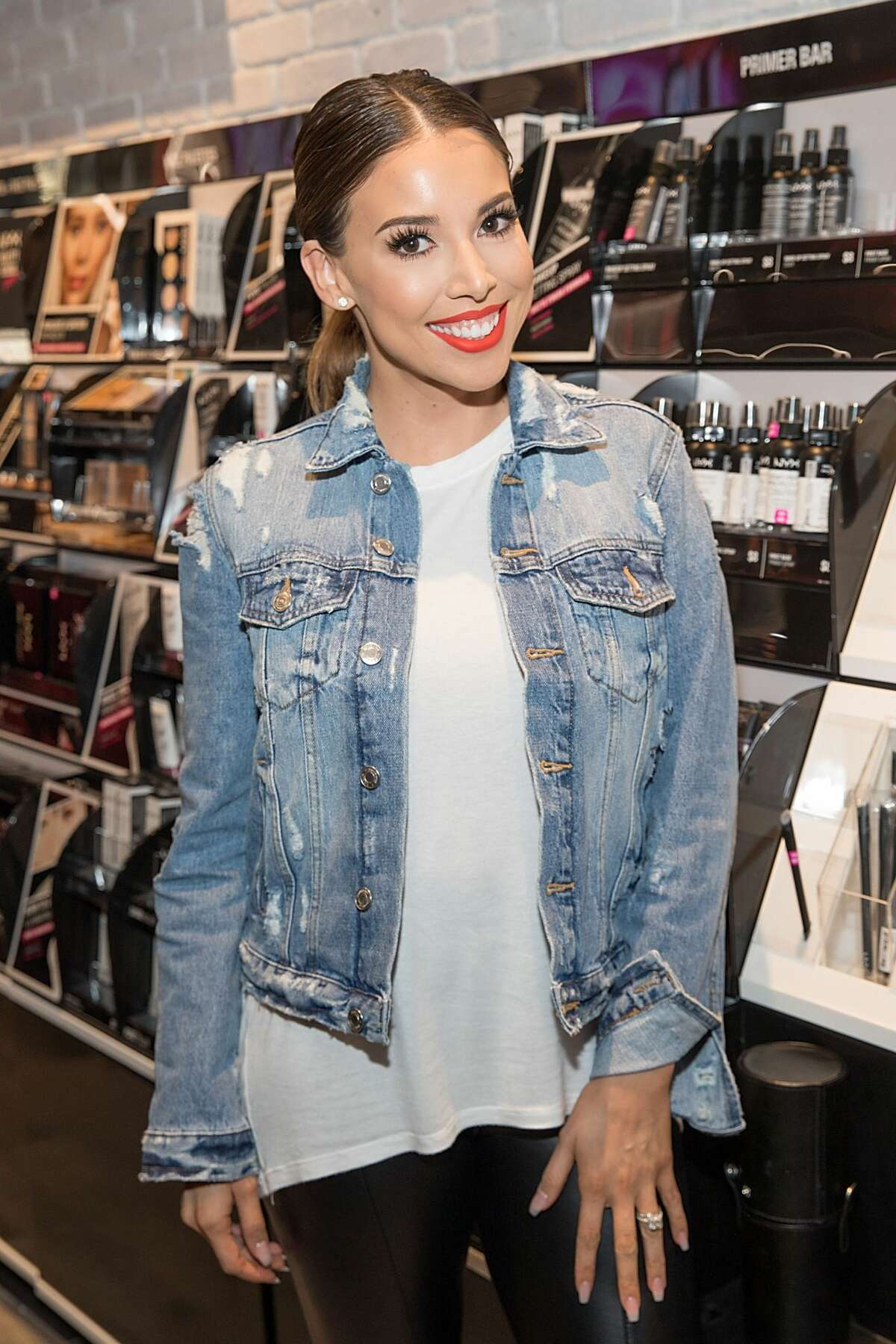 SAN ANTONIO, TX - FEBRUARY 25: Lustrelux @lustrelux attends the NYX Professional Makeup Store Grand Opening Meet & Greet at The Shops at La Cantera on February 25, 2017 in San Antonio, Texas. (Photo by Rick Kern/Getty Images for NYX Professional Makeup)