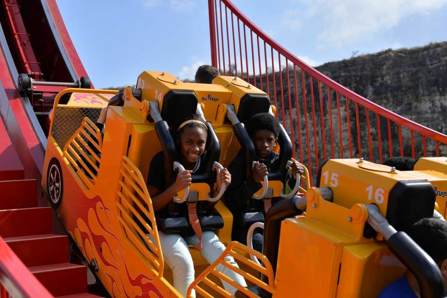 Six Flags Fiesta Texas celebrated its 2017 opening weekend with a park packed with adventure and thrill loving attendees who got their fill of roller coasters and theme shows. Photo: By Kody Melton, For MySA