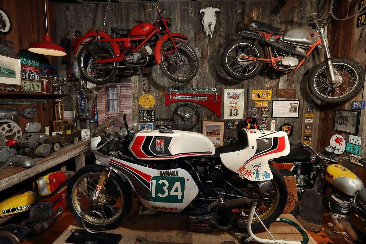 Inside new Moto Talbott Collection museum in Monterey.