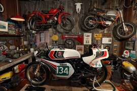 Inside new Moto Talbott Collection museum in Monterey.