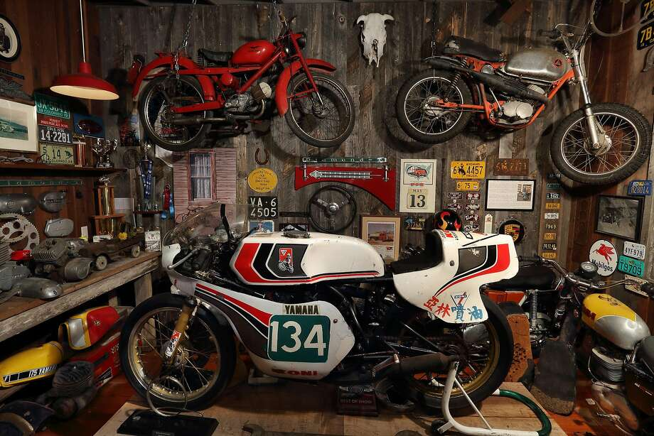 Some of the MotoTalbott Collection's bikes on display Photo: Randy Wilder, .