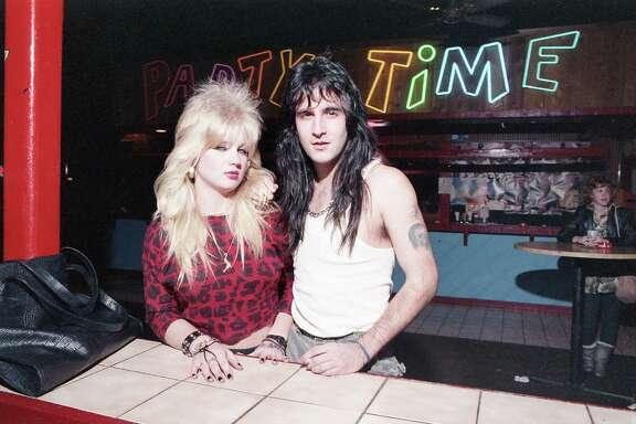 Inside Cardi's nightclub, 5901 Westheimer near Fountainview, Feb. 10, 1987.