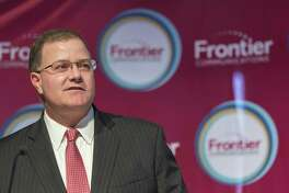 Frontier Communications CEO Daniel McCarthy in October 2016 in Fairfield, Conn.