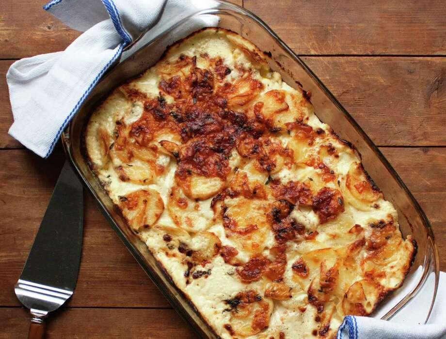 Thyme and Yukon Gold potato gratin Photo: Laura Agra, UGC / Laura Agra via Katie Workman
