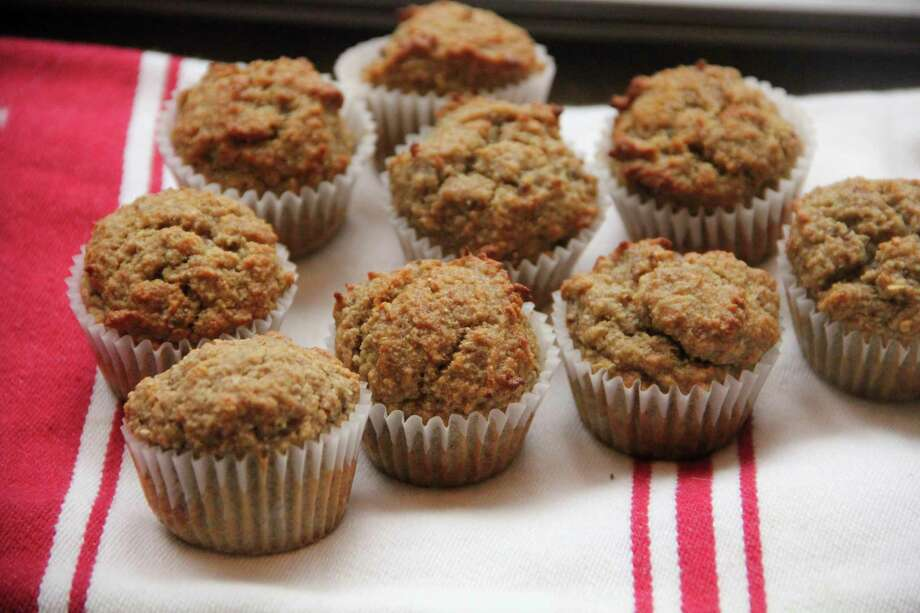This Feb. 15, 2017 photo shows banana oat muffins in Coronado, Calif. This dish is from a recipe by Melissa d'Arabian. (Melissa d'Arabian via AP) Photo: Melissa D'Arabian, UGC / Melissa d'Arabian