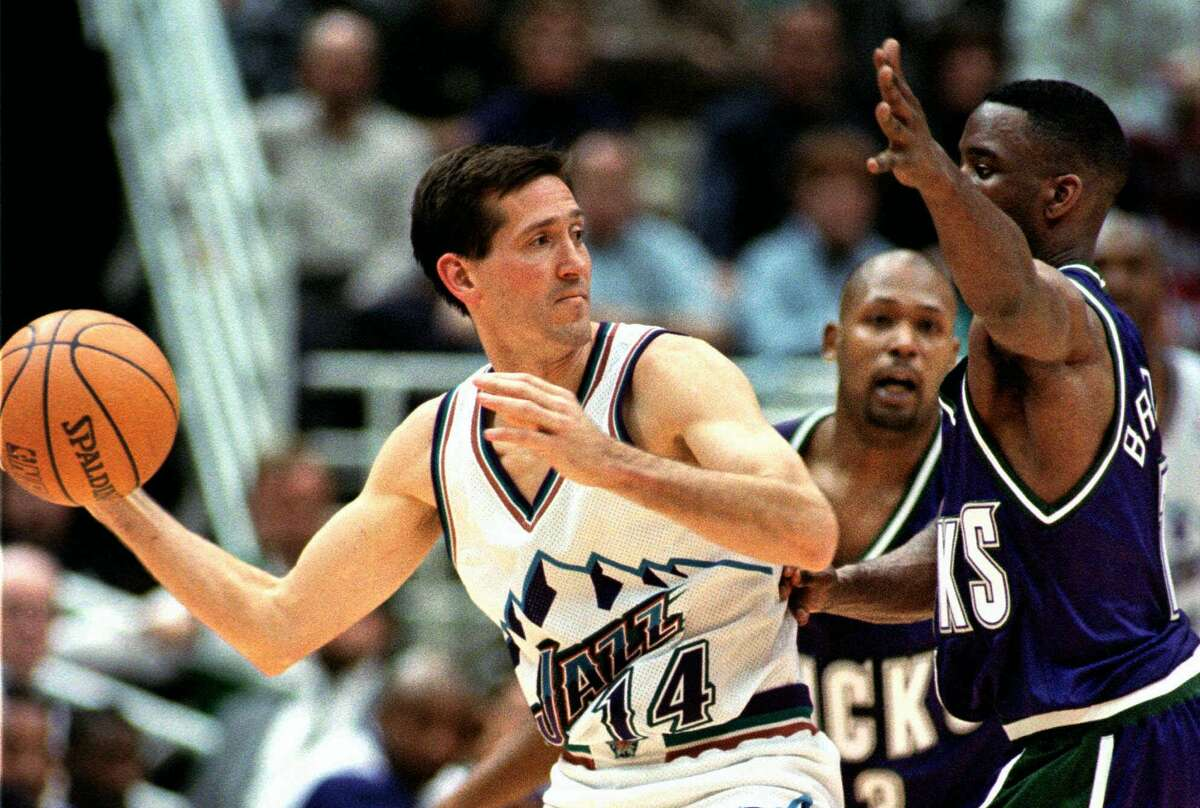 Jeff Hornacek, 1994 The sharpshooter was languishing on a terrible Philadelphia team when Utah got him for Jeff Malone and a 1994 first-round pick. Hornacek proved a perfect third option to the Karl Malone/John Stockton duo. The Jazz made the West final that year (losing to the Rockets) and in 1996 before breaking through to a pair of Finals appearances in 1997 and 1998.