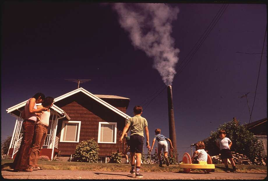 Images of pollution in the 1970sWhile the Environmental Protection Agency was still in its infancy, Nixon ordered 70 photographers to capture photographs of the environmental crisis in America, and how it impact urban and rural life.Click through to some of the most grim photos of pollution from the 1970s. Photo: NARA