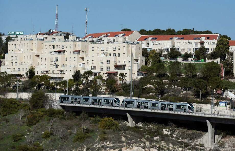 """Jewish settlements such as Pisgat Zeev, in the mainly Palestinian eastern sector of Jerusalem, prompted the White House to say that building new settlements or expanding existing ones """"may not be helpful."""" Moving the U.S. Embassy to Jerusalem would further threaten peace in the region. Photo: Ahmad Gharabli /Getty Images / AFP or licensors"""