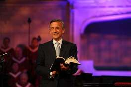 """Progress? Rev. Robert Jeffress, the pastor of the 11,000-member First Baptist Church in Dallas, hasn't stopped preaching that homosexual sex is sinful, but he no longer singles it out for special condemnation. Now, Jeffress says, he usually talks about homosexuality within """"a bigger context of God's plan for sex between one man and one woman in a lifetime relationship called marriage."""""""