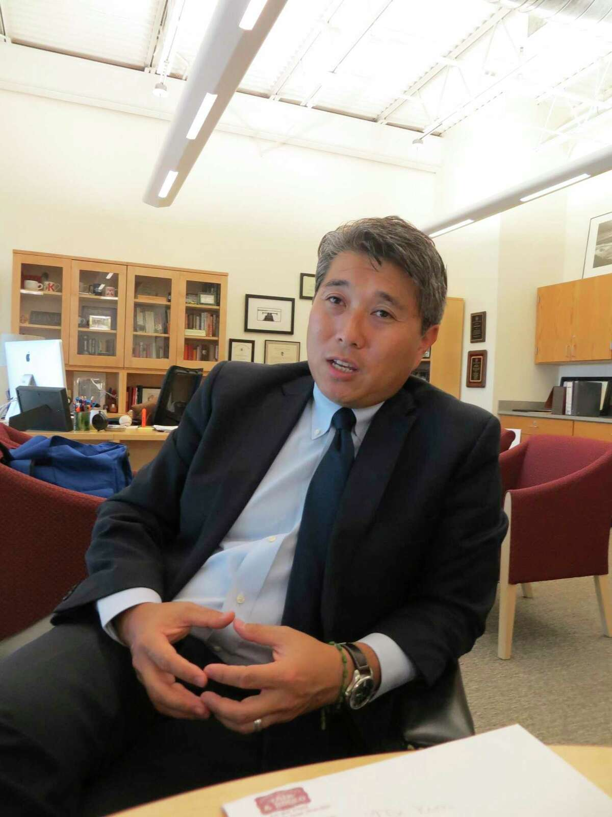 Comal County ISD Superintendent Andrew Kim