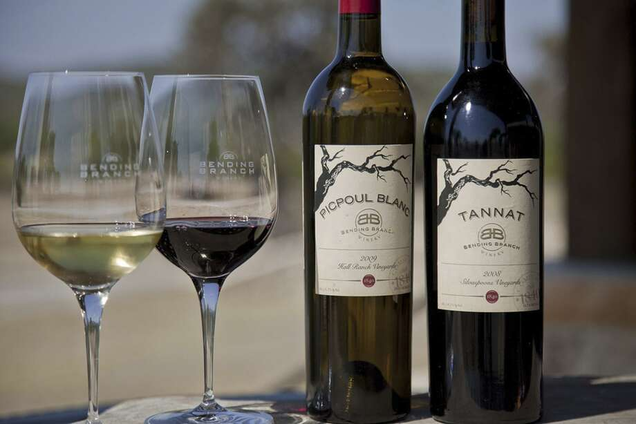 Bending Branch winery in Comfort produces Picpoul Blanc and Tannat wines. Photo: Courtesy Hammel Photography
