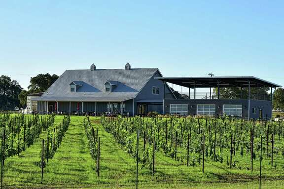 Kuhlman Cellars is a popular stop on the Highway 290 Wine Trail.