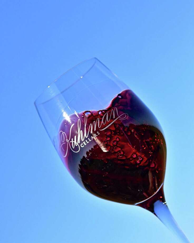 Red wine from Kuhlman Cellars Photo: Courtesy Miguel Lecuona / Wine Marketing Guide LLC