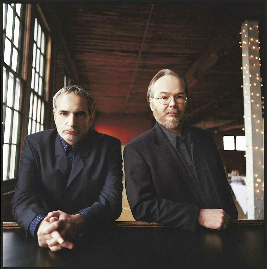 Steely Dan — Donald Fagen, left, and Walter Becker — will headline the Greenwich Town Party in May. Photo: Danny Clinch / Courtesy Scoop Marketing