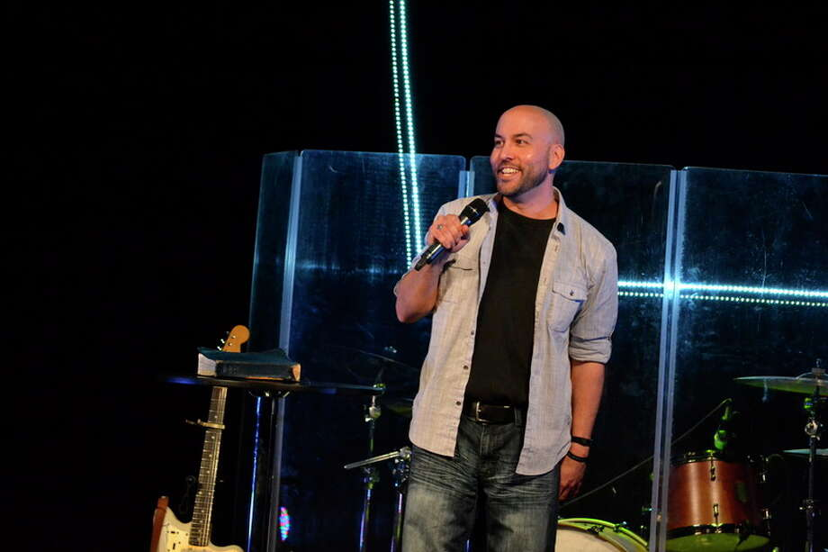 Jonathan Herron, 39, is the founding pastor of Life Church Michigan